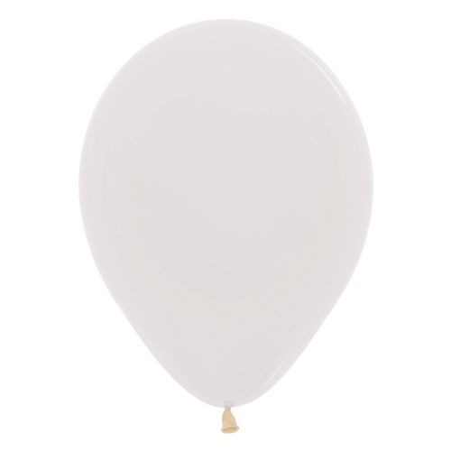 "Crystal Solid Clear 390 Latex Balloons 12""/30cm"